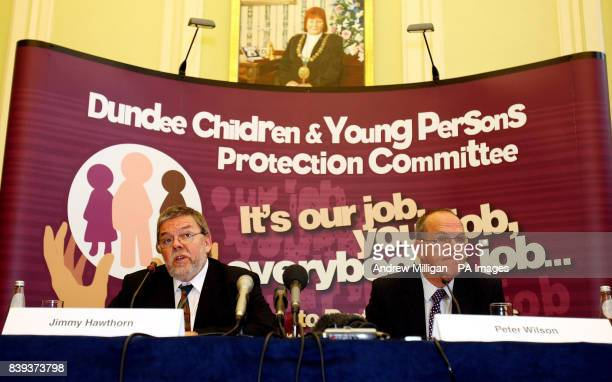 Report authors Jimmy Hawthorn and Peter Wilson discuss the independent report into the death of 23monthold Brandon Muir in Dundee last year during a...