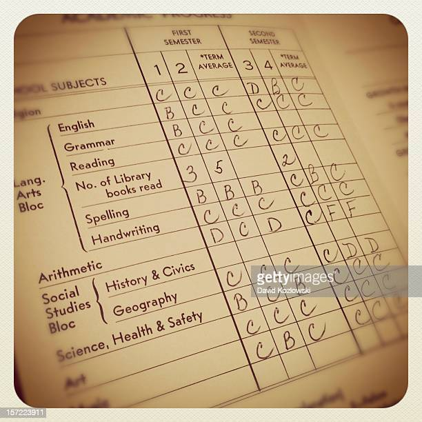 Report Card Old