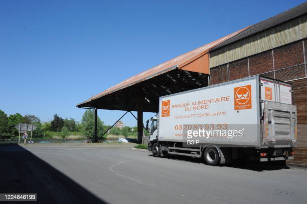 Report Food Bank of North - Lille. Since the start of the Covid 19 health crisis, the association has been ensuring the daily distribution of...