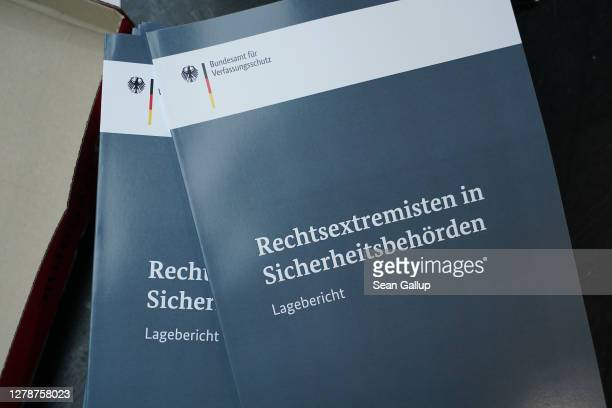 Report prepared by the Office for the Protection of the Constitution on political extremism among members of Germany's security and law enforcement...