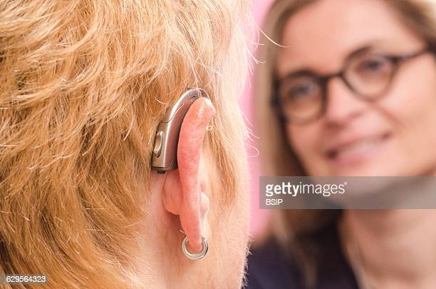 Reportage in a hearing care professional practice