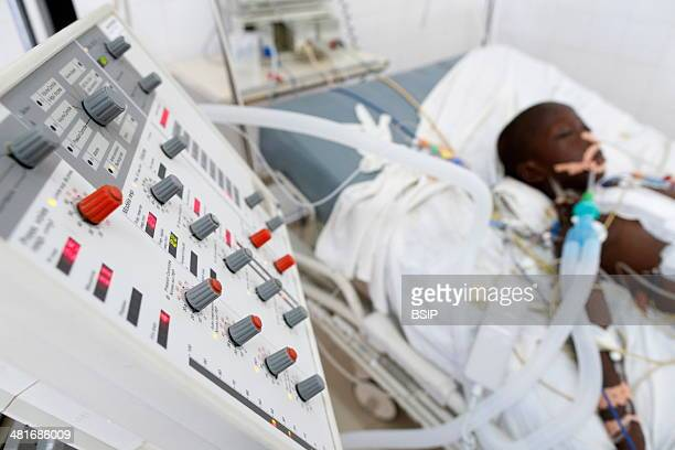 Reportage in Fann hospital Dakar Senegal Intensive care