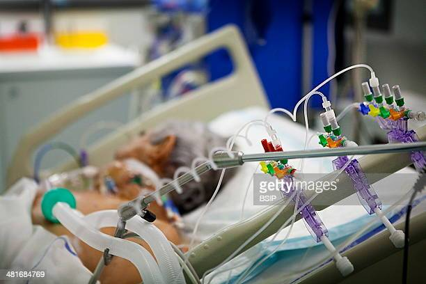 Reportage in Robert Ballanger hospital's Intensive Care Unit in France