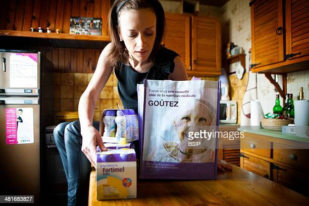 Reportage on a woman suffering from anorexia Christel has suffered from anorexia for 2 years Her body mass index is 167 and is extremely thin Her...