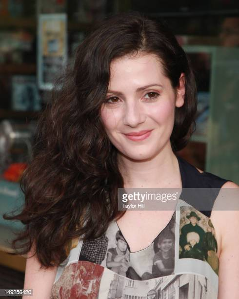 Reporter Aleksa Palladino attends 'The Campaign' premiere at Sunshine Landmark on July 25 2012 in New York City