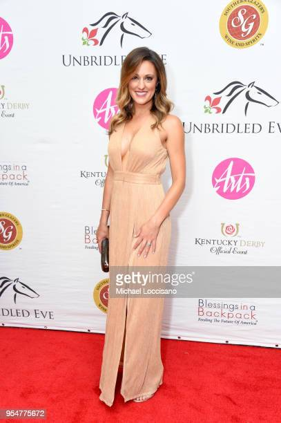 Reporter Allison Williams attends the Unbridled Eve Gala during the 144th Kentucky Derby at Galt House Hotel Suites on May 4 2018 in Louisville...