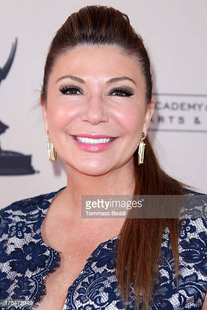 Reporter Ana Garcia attends the Academy Of Television Arts Sciences 65th Los Angeles Area EMMY Awards held at the Leonard H Goldenson Theatre on...