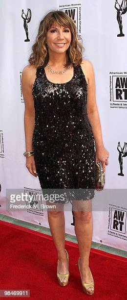 Reporter Ana Garcia attends the American Women in Radio and Television 2010 Genii Awards at the Skirball Cultural Center on April 14 2010 in Los...