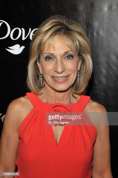Reporter Andrea Mitchell attends the 35th Annual Gracie Awards Gala at The Beverly Hilton Hotel on May 25 2010 in Beverly Hills California