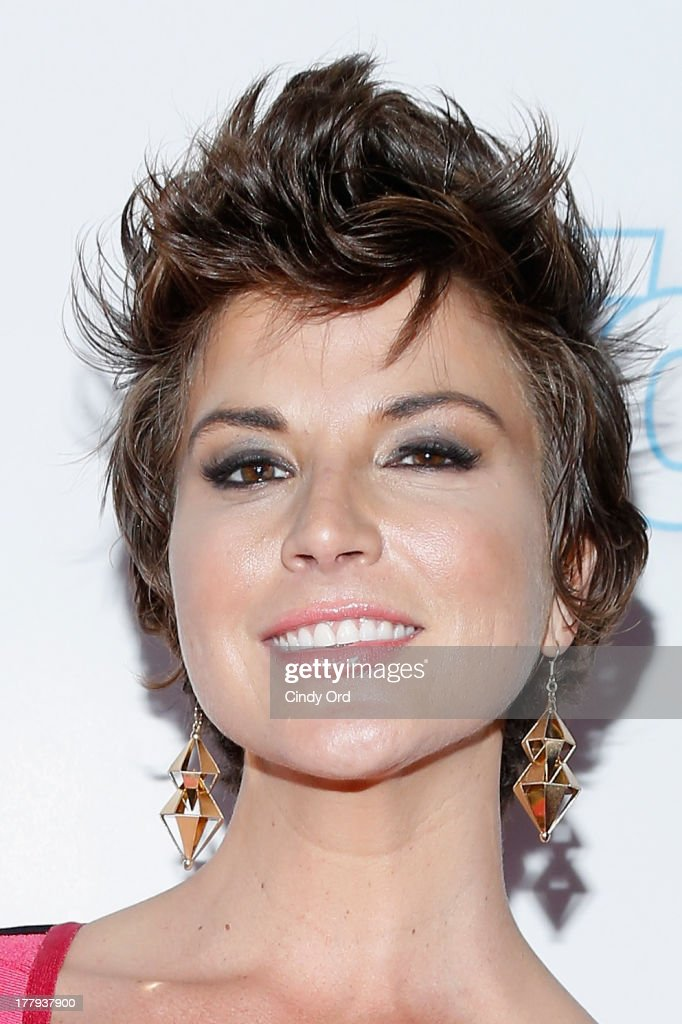 Reporter Diem Brown arrives at Intouch Weekly's 'ICONS & IDOLS Party' at FINALE Nightclub on August 25, 2013 in New York City.