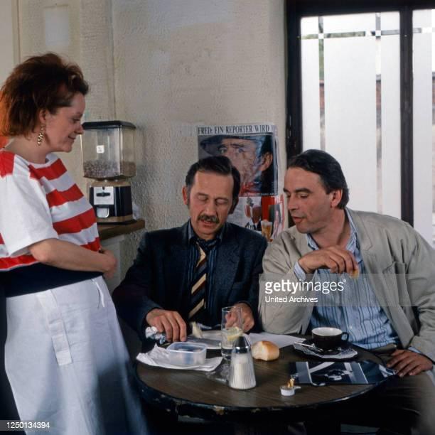 Reporter, Fernsehserie, Deutschland 1989, Darsteller: Billie Zöckler, Tilo Prückner, Walter Kreye.