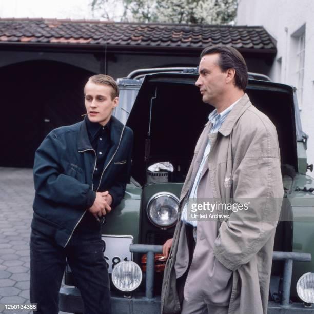 Reporter, Fernsehserie, Deutschland 1989, Darsteller: Jürgen Vogel, Walter Kreye.