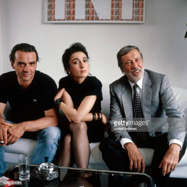 Reporter, Fernsehserie, Deutschland 1989, Darsteller: Walter Kreye, Renan Demirkan, Dietmar Schönherr.