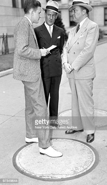 Reporter hears about vice clean-up from G-Men J. Edgar Hoover and Clyde Tolson in Trenton.