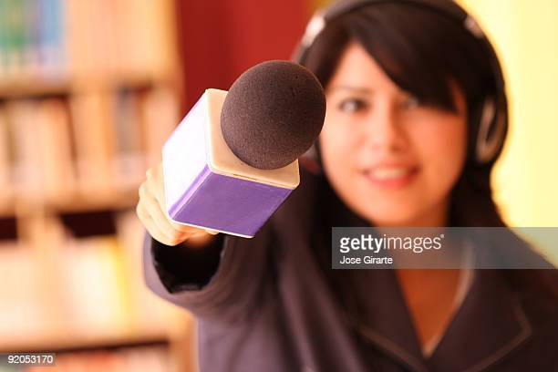 TV Reporter Interviews