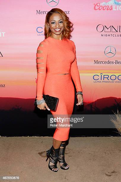 ESPN reporter Josina Anderson attends ESPN the Party at WestWorld of Scottsdale on January 30 2015 in Scottsdale Arizona