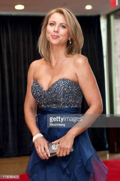 CBS reporter Lara Logan arrives for the White House Correspondents' Association dinner in Washington DC US on Saturday Aprill 30 2011 The dinner...