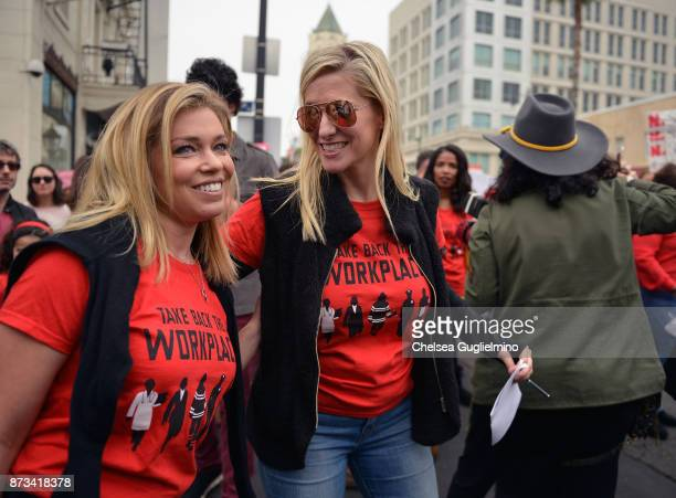 TV reporter Lauren Sivan seen at the Take Back The Workplace March on November 12 2017 in Hollywood California