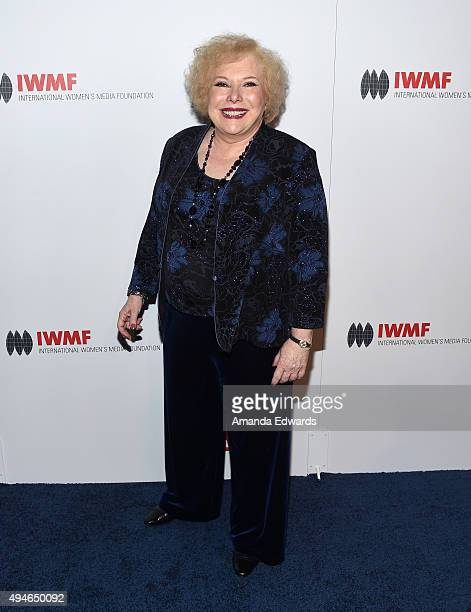 Reporter Linda Deutsch arrives at the International Women's Media Foundation Courage Awards at the Beverly Wilshire Four Seasons Hotel on October 27...