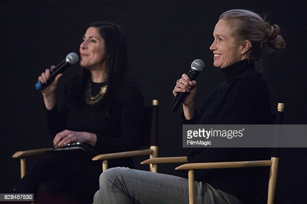 Reporter Lindsay Cohen and CoDirector Alexis Bloom speak after the Seattle Premiere of the HBO Documentary 'Bright Lights' at SIFF Cinema Uptown...