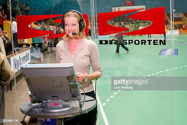 Reporter Louise Bjerregaard DR Sporten
