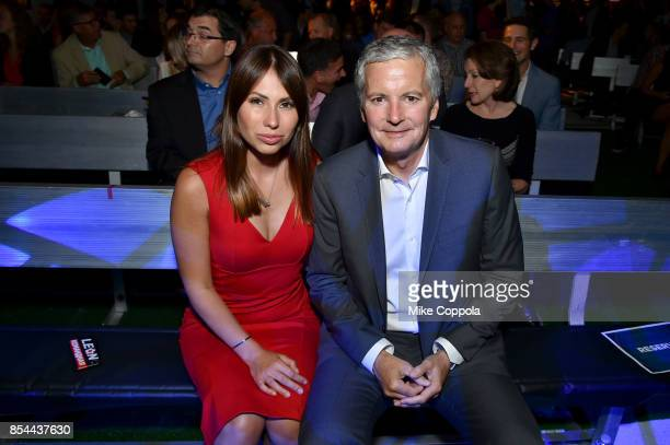 Reporter Maria Komandnaya and Executive Producer David Neal attend FOX Sports 2018 FIFA World Cup Celebration on September 26 2017 at ArtBeam in New...