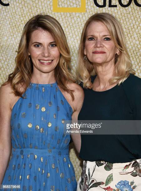 Reporter Martha Raddatz and her daughter Greta Bradlee Williams arrive at the premiere of National Geographic's The Long Road Home at Royce Hall on...