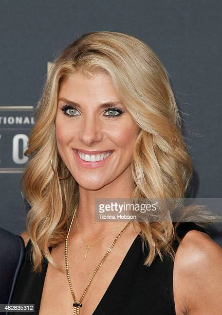 ESPN reporter Michelle Beisner attends the 4th Annual NFL Honors at Phoenix Convention Center on January 31 2015 in Phoenix Arizona