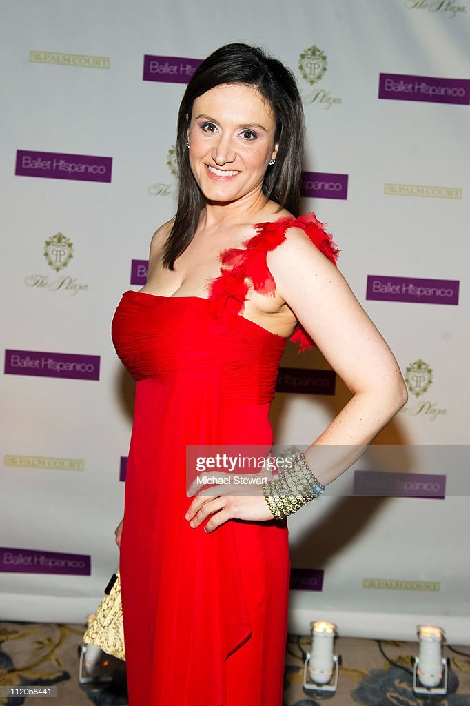 MSNBC reporter Michelle Caruso-Cabrera attends the Ballet Hispanico 40th Anniversary Spring Gala at the Grand Ballroom at The Plaza Hotel on April 11, 2011 in New York City.