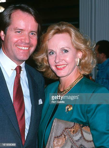 """Reporter Pia Lindstrom and date John Carley attend the Details Magazine and Woolite Fashion Forum Host """"A Salute to Future Fashion"""" Cocktail..."""