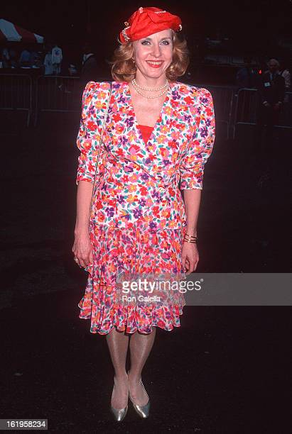 """Reporter Pia Lindstrom attends the Fresh Air Fund's """"Party in the Park"""" Benefit on May 11, 1993 at the Tavern on the Green in New York City."""