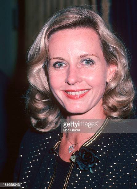Reporter Pia Lindstrom attends the Salvation Army Honors Dinah Shore on October 2, 1981 at the Waldorf-Astoria Hotel in New York City.