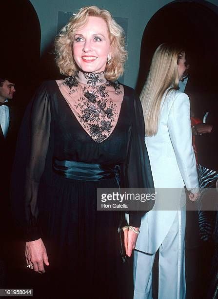 Reporter Pia Lindstrom attends the Swedish Secret The Superior Moisturizer Launch Party on November 12, 1986 at Automation House @ 49 East 58th...