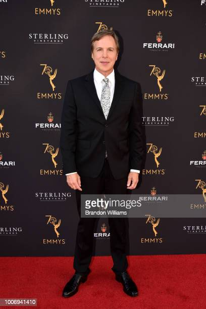 Reporter Robert Kovacik attends the 70th Los Angeles Area Emmy Awards at Saban Media Center on July 28 2018 in North Hollywood California