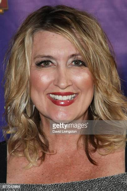Reporter Wendy Burch arrives at the premiere of 'The Bodyguard' at the Pantages Theatre on May 2 2017 in Hollywood California