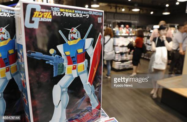 Reporters are invited to Gundam Base Tokyo an official store selling plastic models of robots and armor featuring in the popular Japanese scifi...