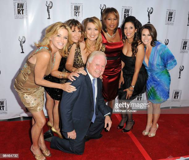 TV reporters Dorothy Lucey Ana Garcia Wendy Burch Pat Harvey Christine Devine Good News Foundation Executive Director Nicole Winters and former Los...