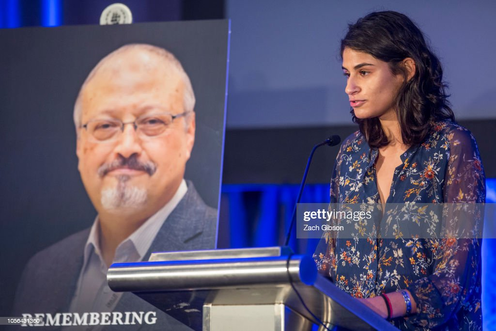Memorial Service Held For Saudi Journalist Jamal Khashoggi In Washington DC : News Photo