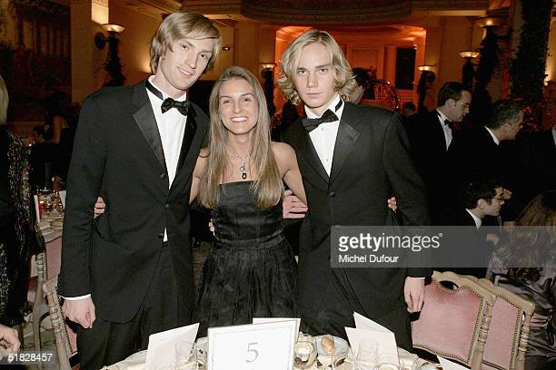 """Repossi's daughter and the sons of Patrick Leclerc - Prime Minister of Monaco - Benjamin and Victot attend a party to raise money for """"L'Envol"""", the..."""