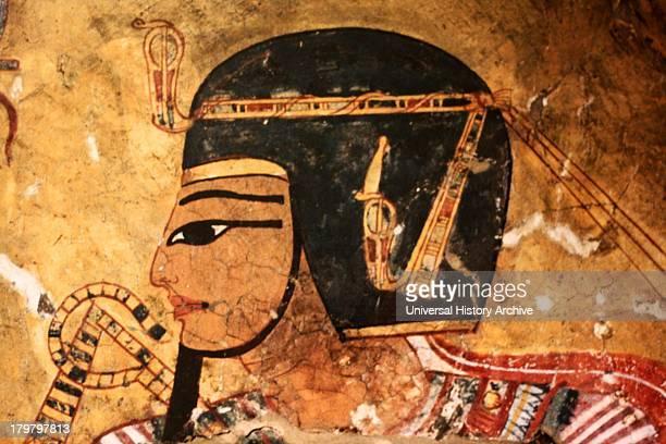 Representation of the defied Pharaoh Amenhotep 1