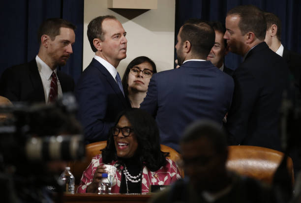 DC: House Intelligence Committee Holds Hearing On Impeachment Inquiry Of President Trump
