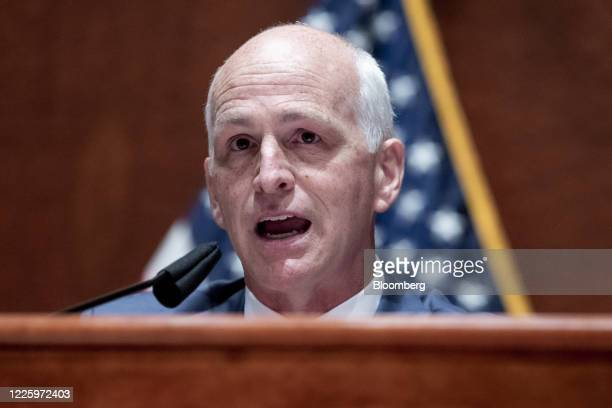 Representative Adam Smith a Democrat from Washington and chairman of the House Armed Services Committee speaks during a House Armed Services...