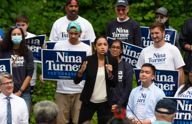 OH: Rep. Ocasio-Cortez Campaigns With Ohio Congressional Candidate Nina Turner