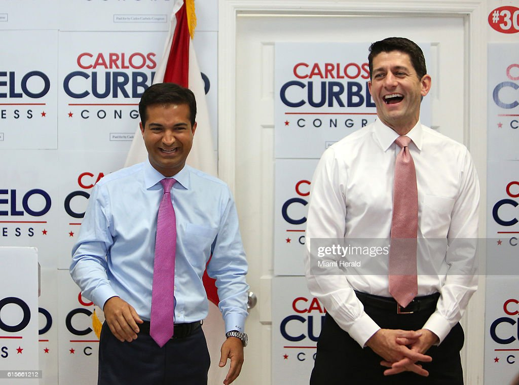 Paul Ryan visits Miami : News Photo