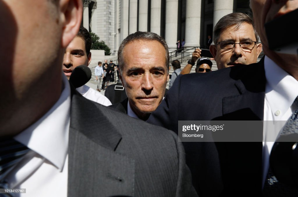 Congressman Christopher Collins And Son Charged With Insider Trading