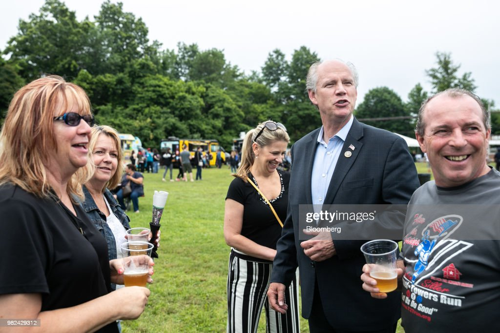 Representative Dan Donovan Campaigns Ahead Of The June 26 GOP Primary Election