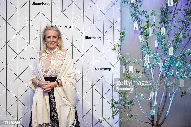 US Representative Debbie Dingell a Democrat from Michigan attends the Bloomberg cocktail party before the White House Correspondents' Association...