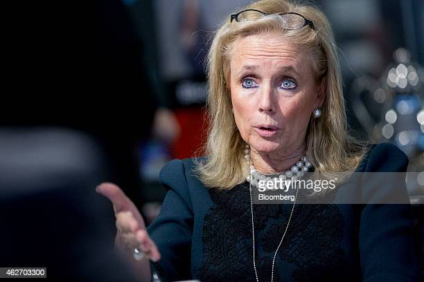 Representative Debbie Dingell, a Democrat from Michigan, speaks during an interview in Washington, D.C., U.S., on Tuesday, Feb. 3, 2015. President...