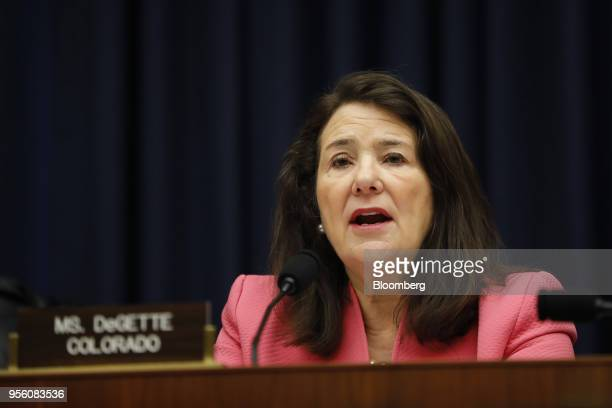 Representative Diana DeGette a Democrat from Colorado speaks during a House Energy and Commerce Subcommittee hearing in Washington DC US on Tuesday...