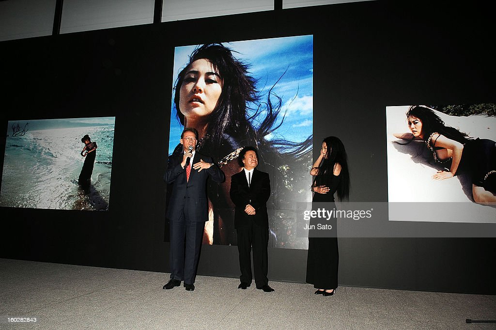 "Rinko Kikuchi Photobook ""RINKO"" Exhibition Press Preview : News Photo"